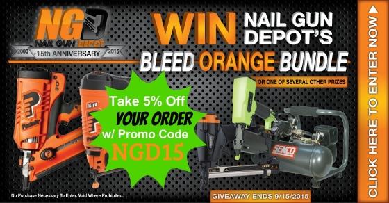 Nail Gun Depot Giveaway