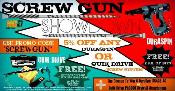 Screw Gun Showdown